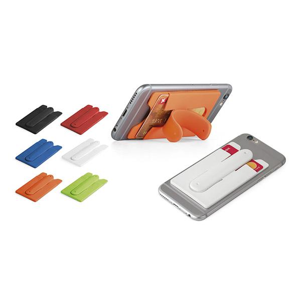 Porte-carte de visite et support pour smartphone Zinia