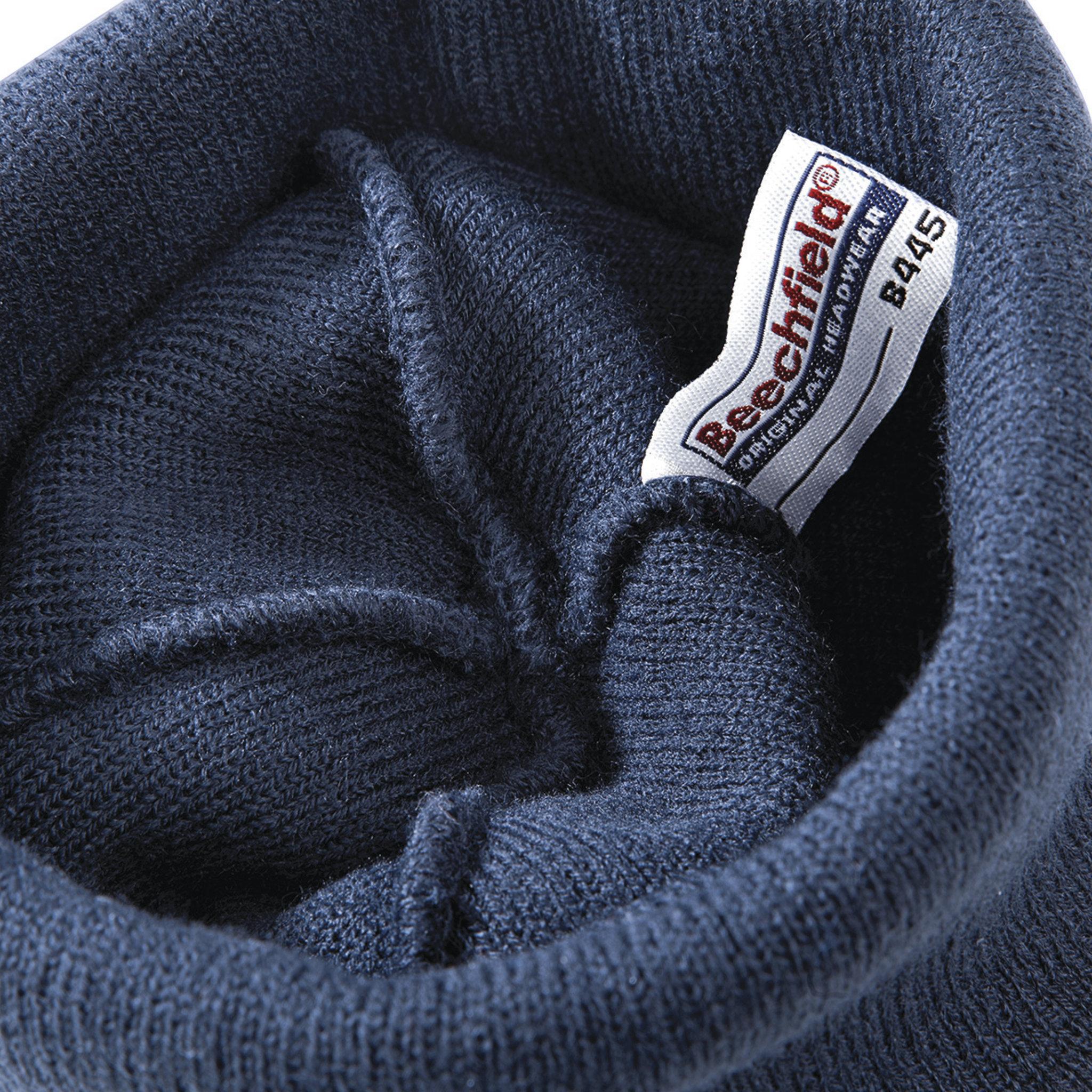 Bonnet promotionnel Beanie - bonnet personnalisable gris