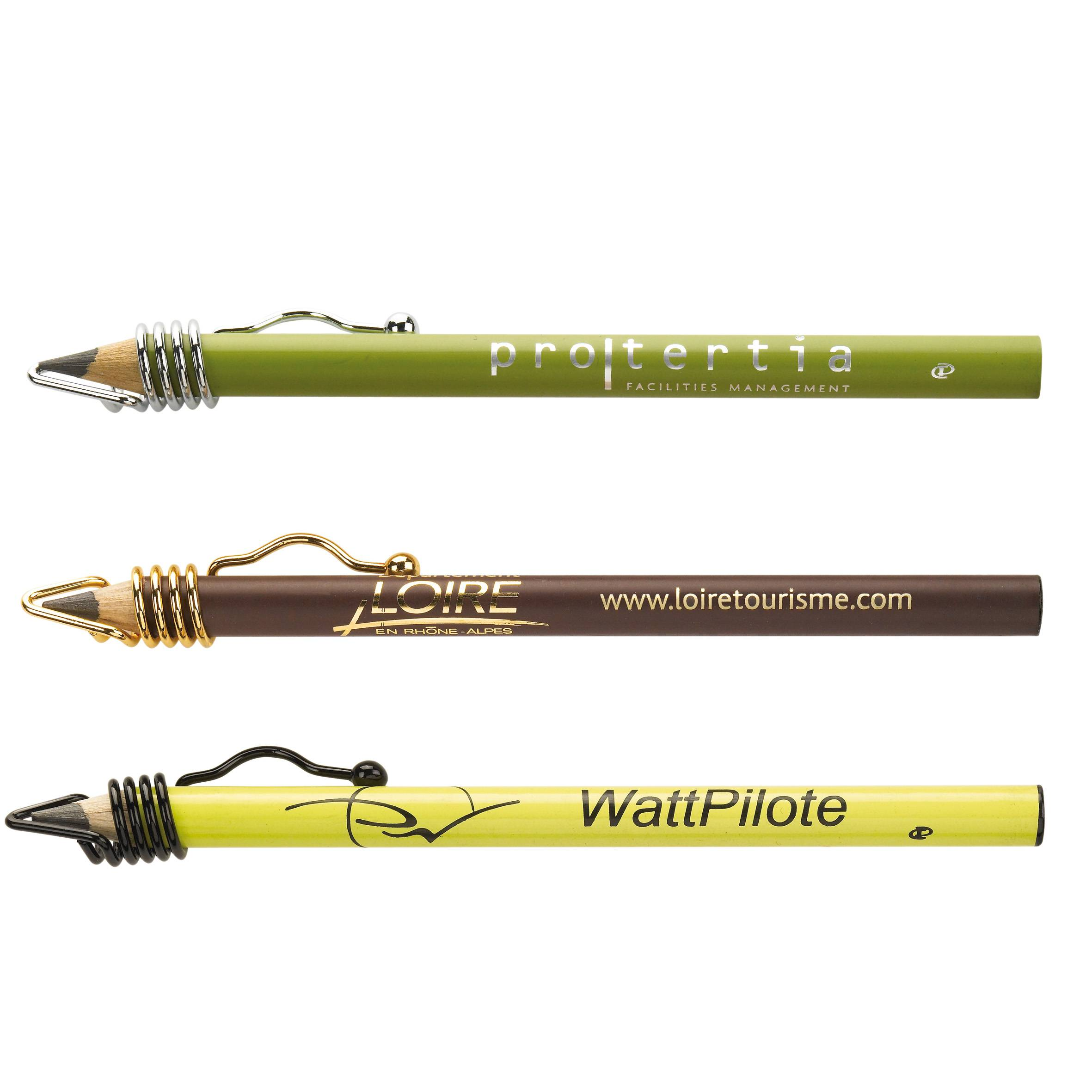 clip crayon à papier publicitaire Clip One