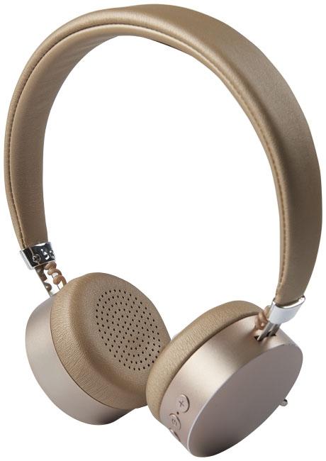 Cadeau d'entreprise - Casque Bluetooth® publicitaire métal Millenial
