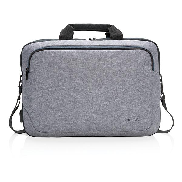 """Sacoche publicitaire pour ordinateur portable 15"""" Arata - Cadeau d'entreprise"""
