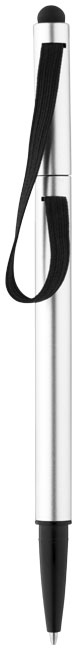 Stylo-stylet publicitaire Stretch - stylo-stylet personnalisable bleu