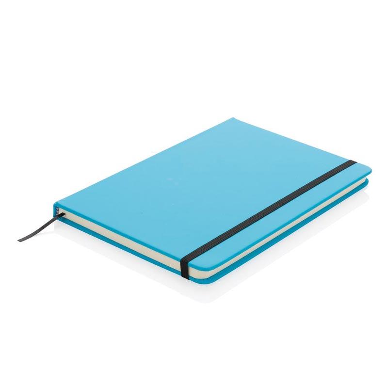 Carnet publicitaireA5 en PU Basic Color - carnet de notes personnalisable