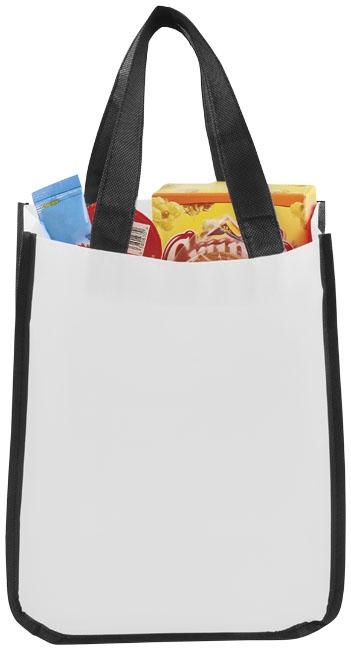 Petit sac shopping personnalisé laminé Pequeno - sac shopping personnalisable