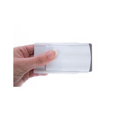 Objet publicitaire- Etui publicitaire rigide 1 carte de crédit anti-RFID