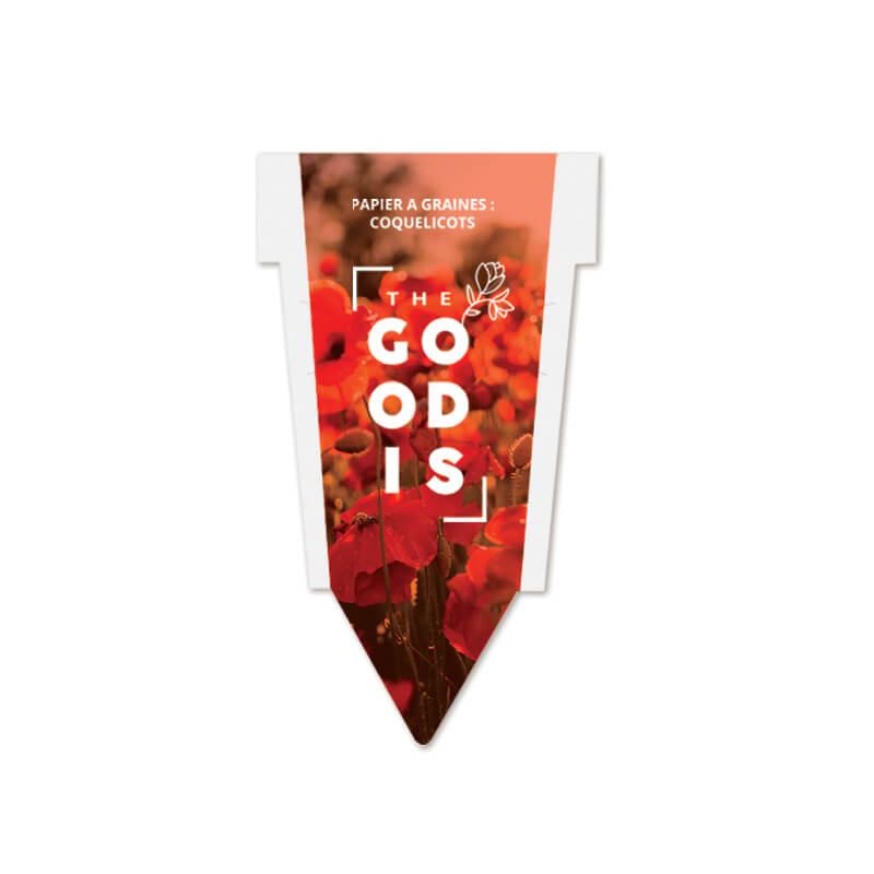 Goodies entreprise - Papier à graines publicitaires Arboretum