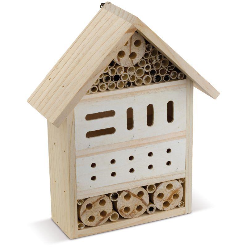 Objet publicitaire écologique - Nichoir à insectes publicitaire Bizz