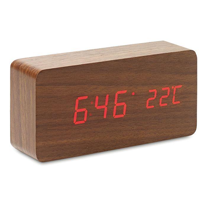 Horloge personnalisable Buenos Aires - Cadeau publicitaire high-tech