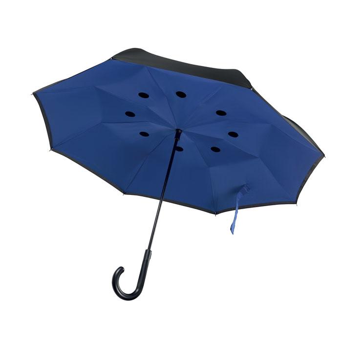 parapluie réversible publicitaire Dundee - cadeau d'entreprise