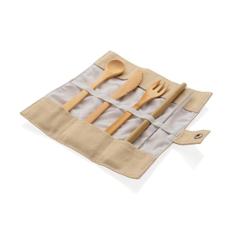 Goodies écologique - Set de couverts en bambou Picwood