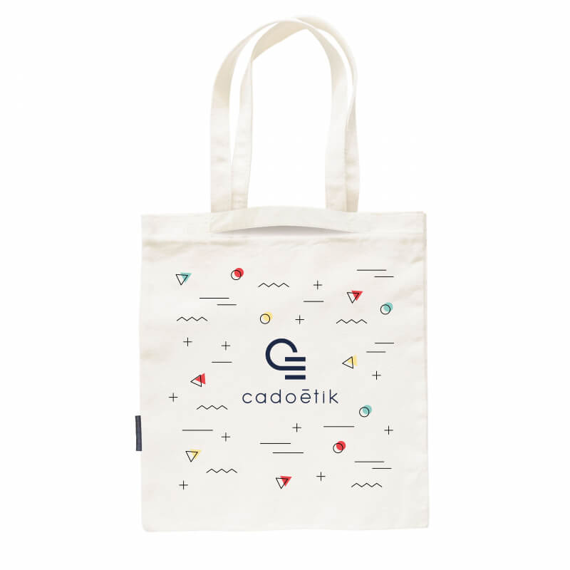 Sac shopping personnalisé Biomixy - Tote bag promotionnel