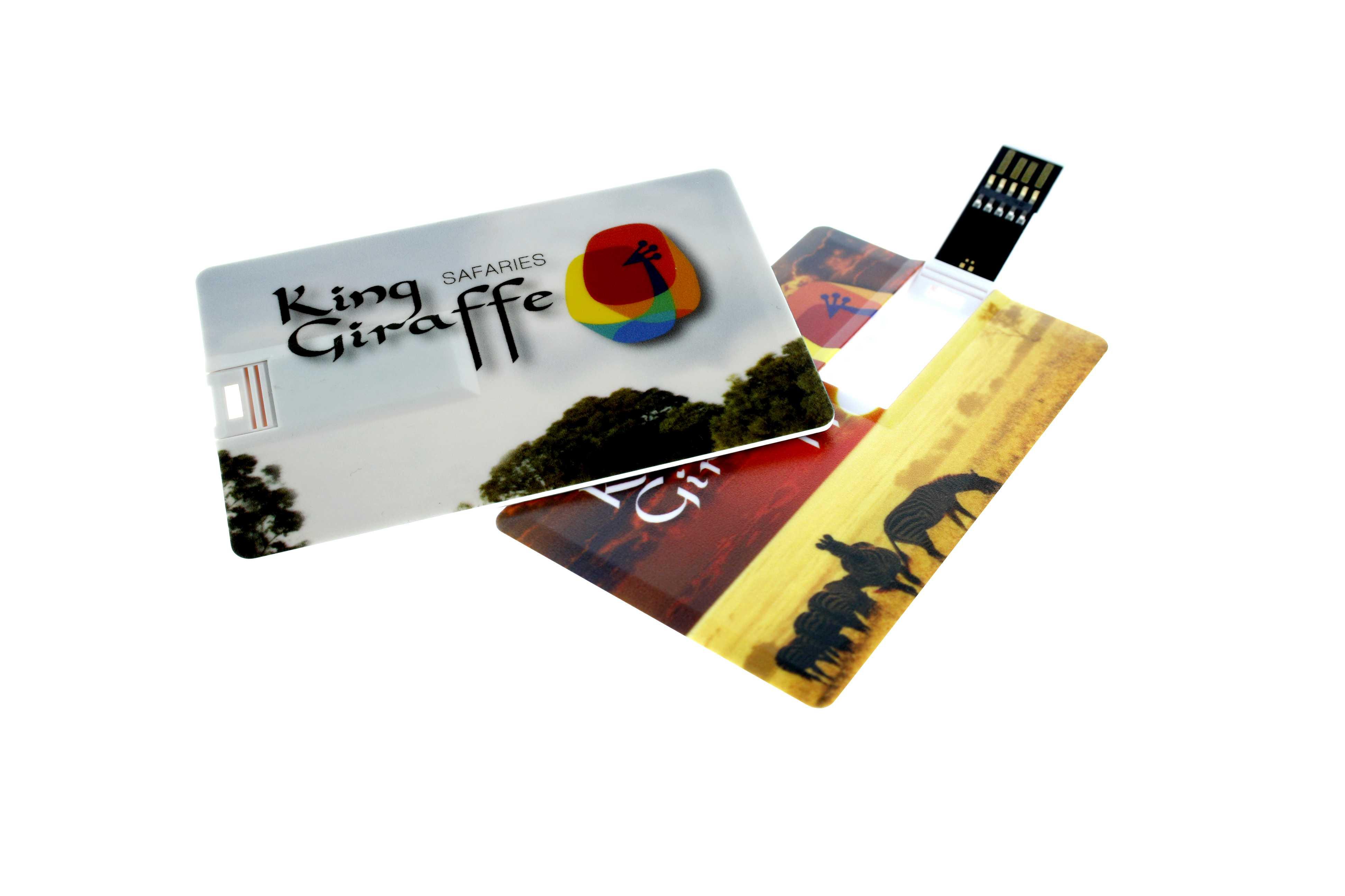 Cadeau d'entreprise - Clé USB publicitaire carte de crédit 3.0