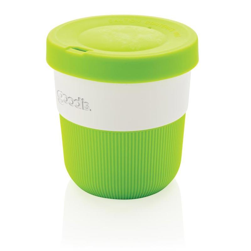 Mug de voyage publicitaire Ryoko en PLA - coloris vert