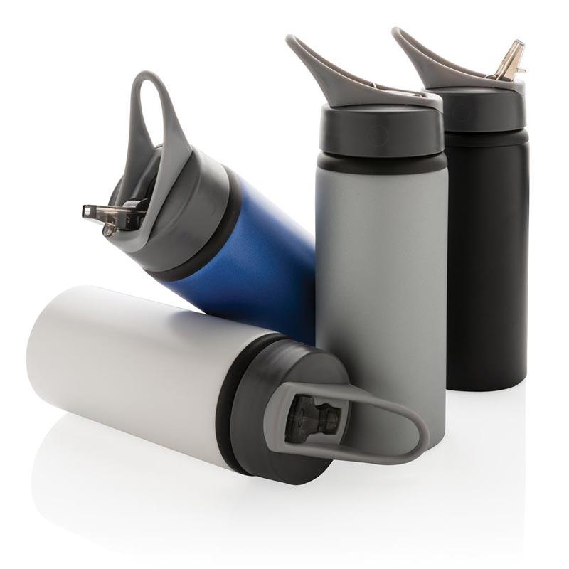 Gourde publicitaire sport en aluminium - Cadeau publicitaire durable