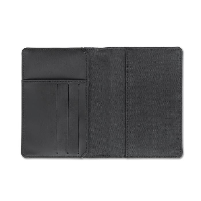Portefeuille personnalisé pour passeport Shieldoc anti-RFID -