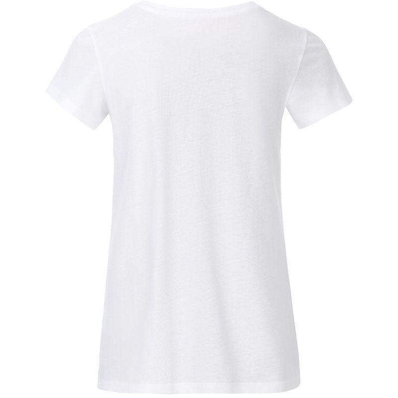 T-shirt personnalisé bio Enfant Kim - Tee-shirt publicitaire biologique - bleu