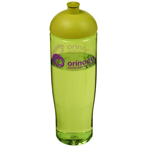 Bouteille de sport personnalisable H2O Tempo® 700 ml avec couvercle en dôme