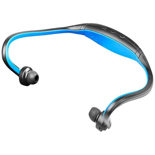 Ecouteurs bluetooth personnalisables pour le sport avec arceau de maintien