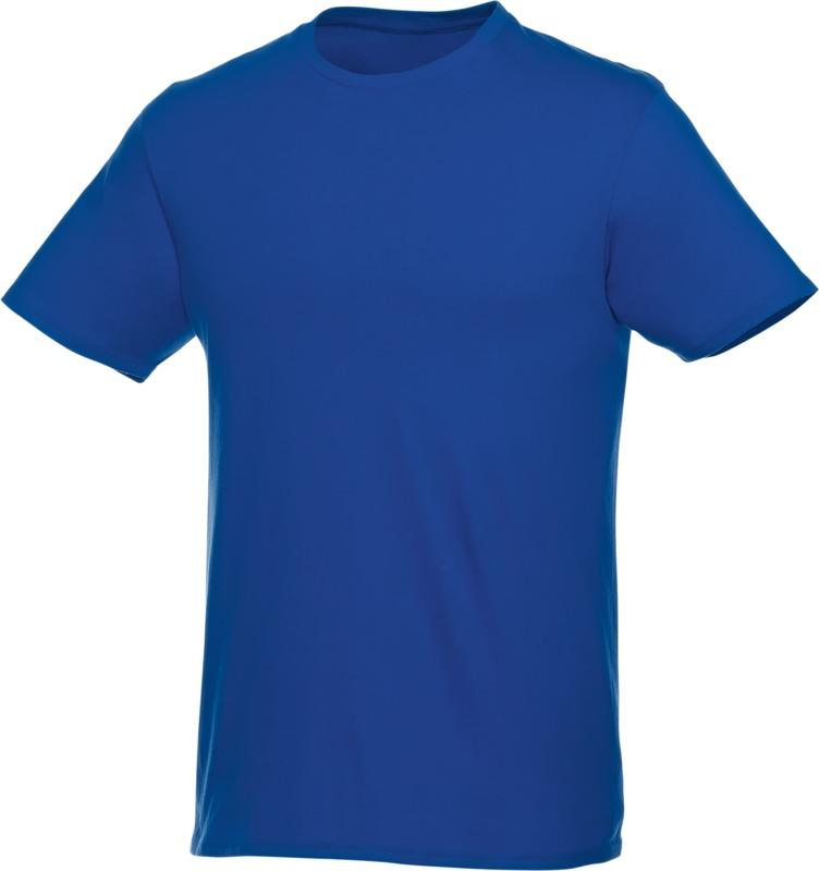 Textile promotionnel - T-shirt bleu à personnaliser Heros
