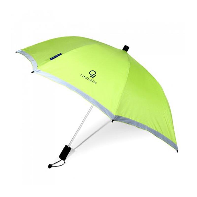 parapluie publicitaire écologique Trecking