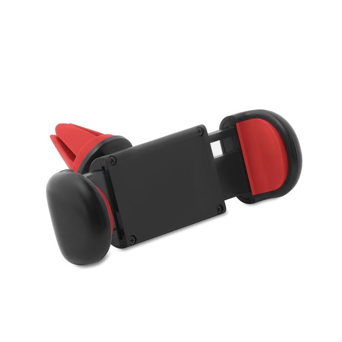 Goodies voiture - Support de téléphone pour voiture Flexi - rouge