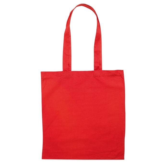 Sac en coton publicitaire 140 g Cottonel + - sac shopping personnalisé marine