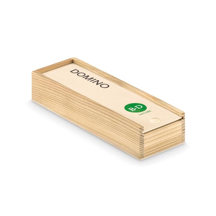 Cadeau promotionnel - Jeu de domino dans une boite Domino
