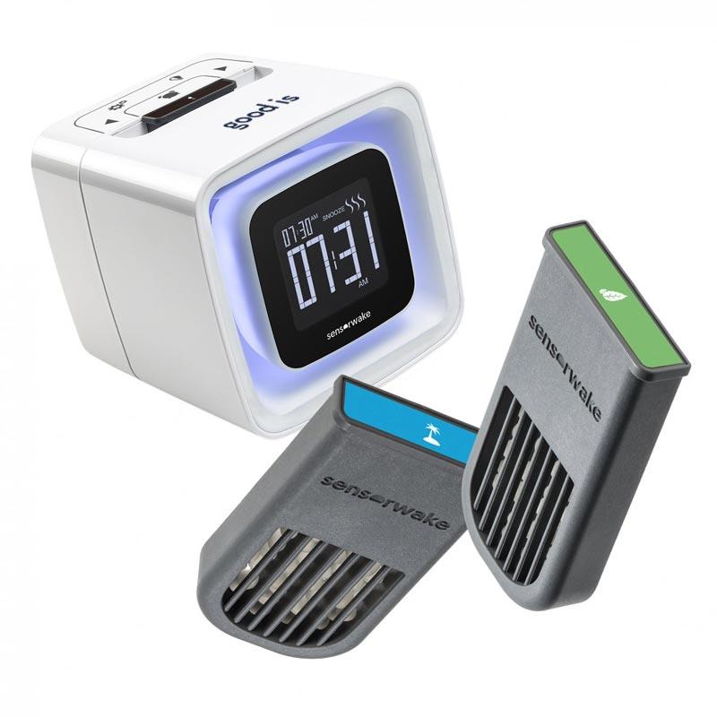 Réveil olfactif publicitaire Sensorwake - cadeau d'entreprise high-tech