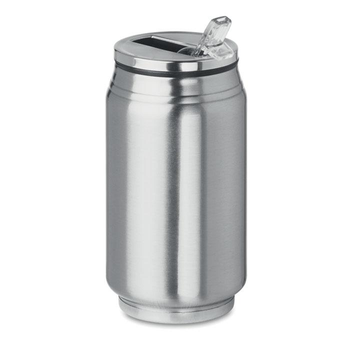 Gobelet  acier publicitaire en forme de cannette Bottle Can