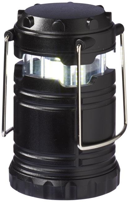 Lanterne publicitaire avec lumière COB Cobalt - objet publicitaire spécial camping