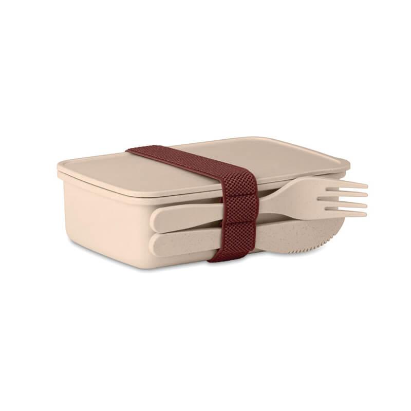 Cadeau d'entreprise écologique - Lunch box en fibre de bambou Astoriabox