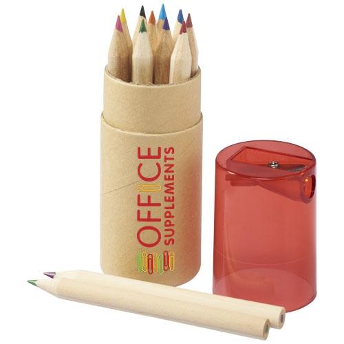 Goodies écologique - Set de 12 crayons de couleur Joan