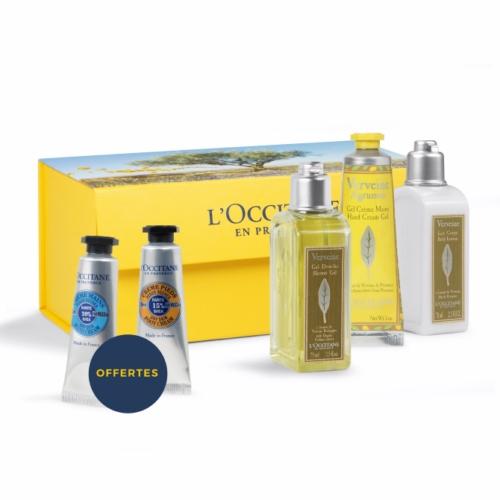 Coffret publicitaire bain de fraîcheur de L'Occitane en Provence - cadeau d'entreprise