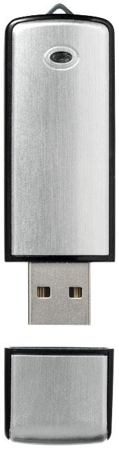 Clé USB publicitaire clasique Square métal - Cadeau publicitaire