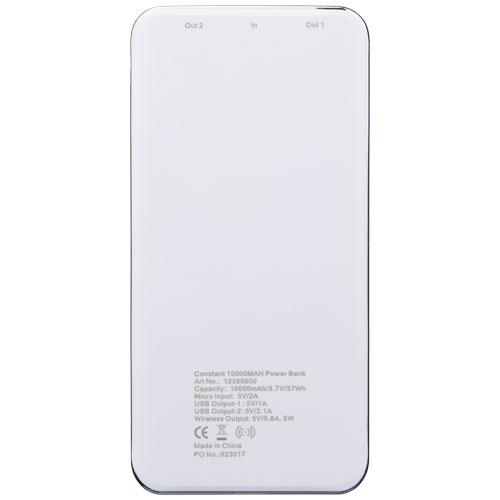 Chargeur induction personnalisable écran LED Constant