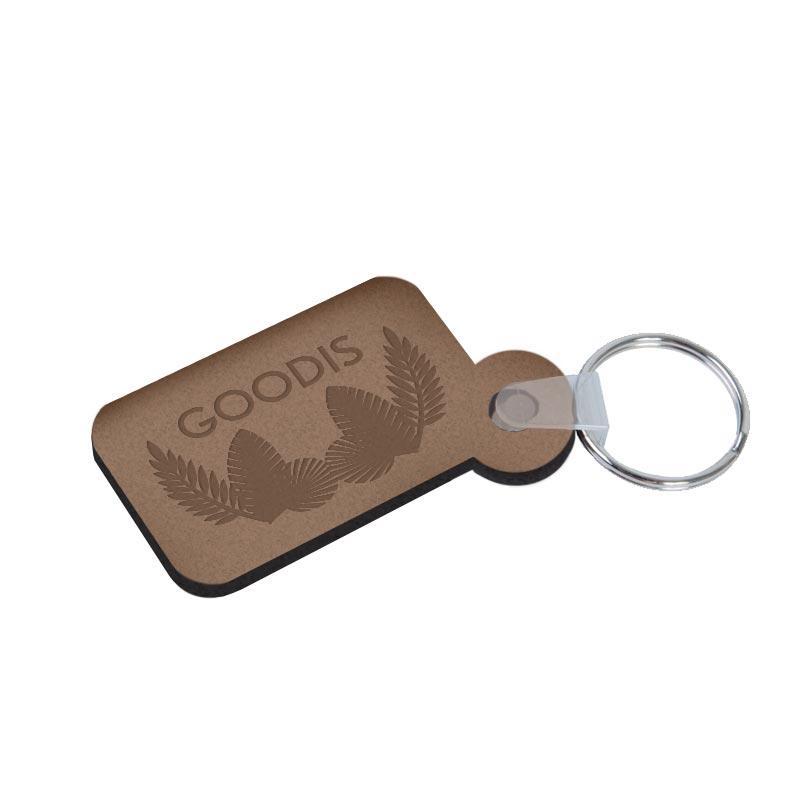 Porte-clés en bois Duramen