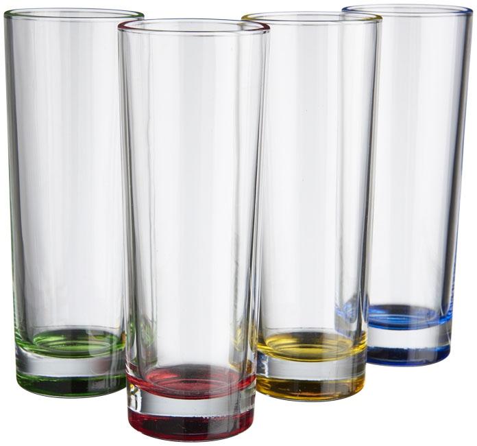 Set de 4 verres SoJuicy - accessoire de cuisine publicitaire