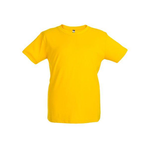 T-shirt publicitaire unisexe pour enfant Ankara Kids jaune