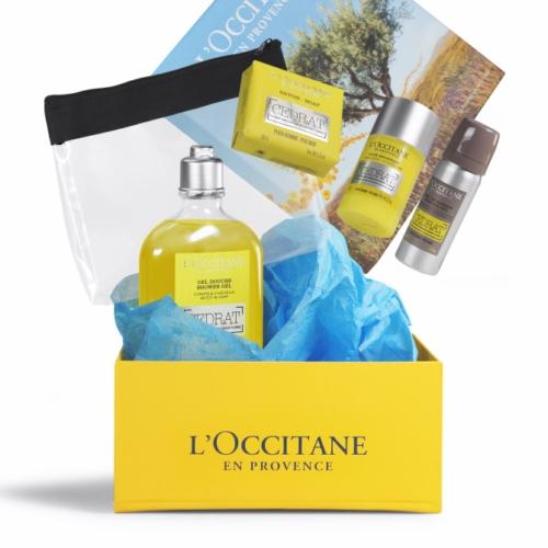 Coffret Matins Frais Cédrat de L'Occitane en Provence - cadeau d'entreprise