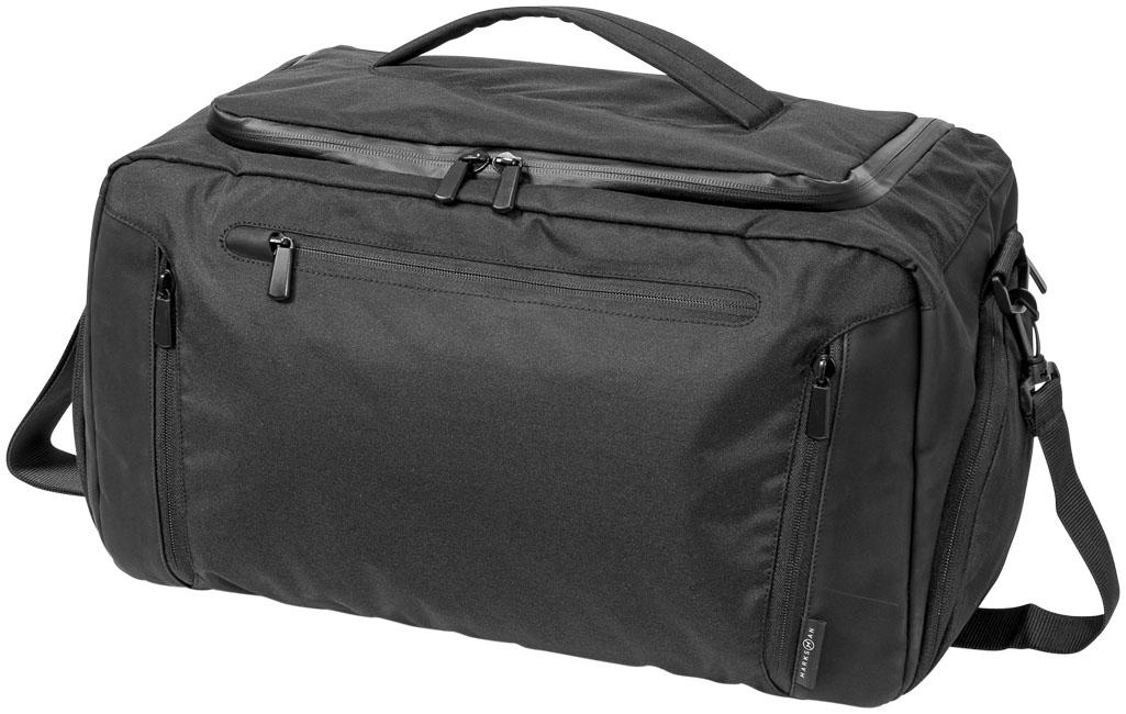Sac de voyage publicitaire Deluxe poche tablette - sac de voyage personnalisable