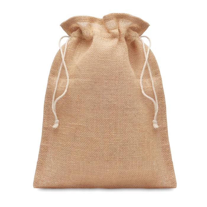 goodies écolo pour vos cadeaux clients un sac en toile de jute