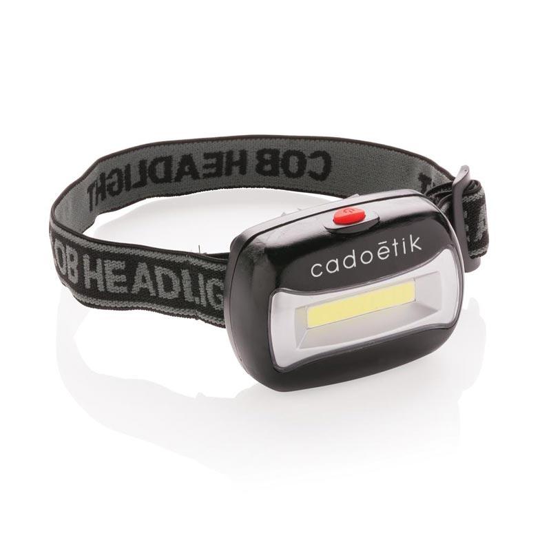 Lampe frontale COB Lead