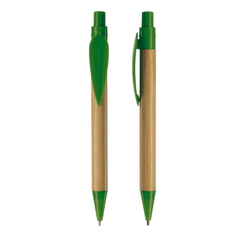 Stylo bille en bambou Eco Leaf