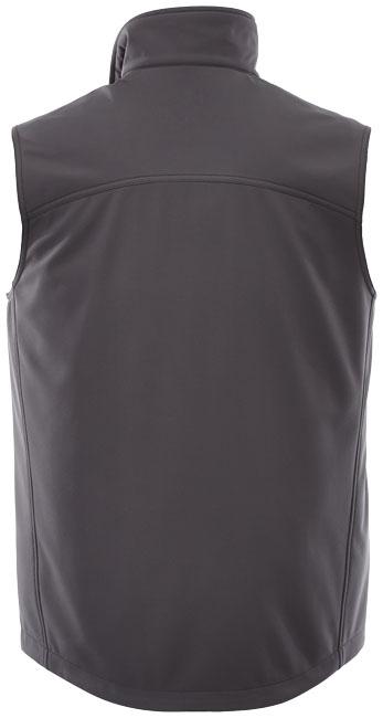 Textile publicitaire - Bodywarmer personnalisable Softshell Stinson