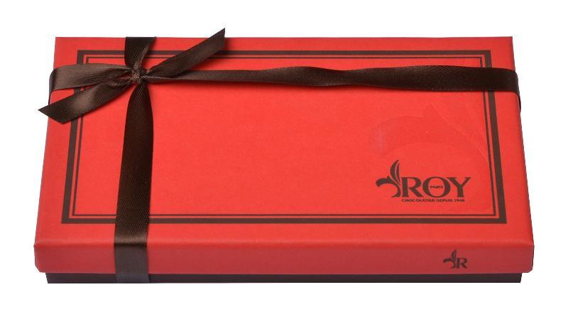 Cadeau d'entreprise pour Noël - Boîte de chocolats Roy 140 g