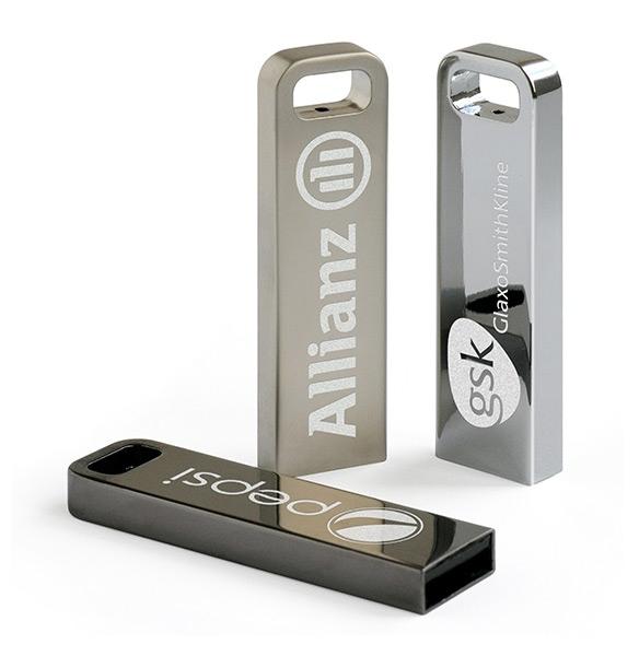 Clé USB publicitaire Iron Stick - Clé USB personnalisable