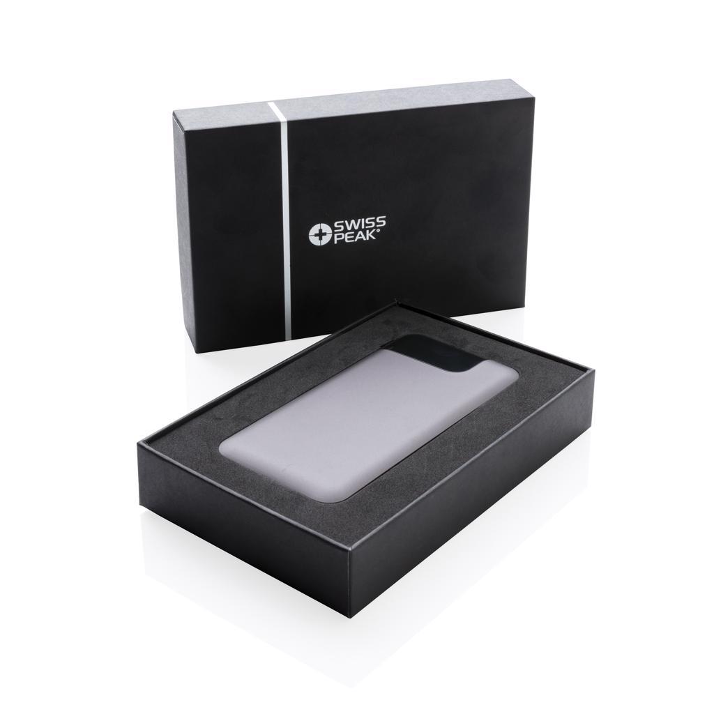 Chargeur de téléphone publicitaire en aluminium et écran Digital - Powerbank personnalisable