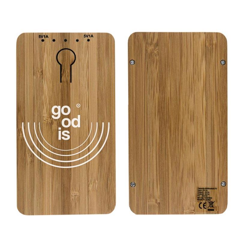 Powerbank 5000 Bamboo