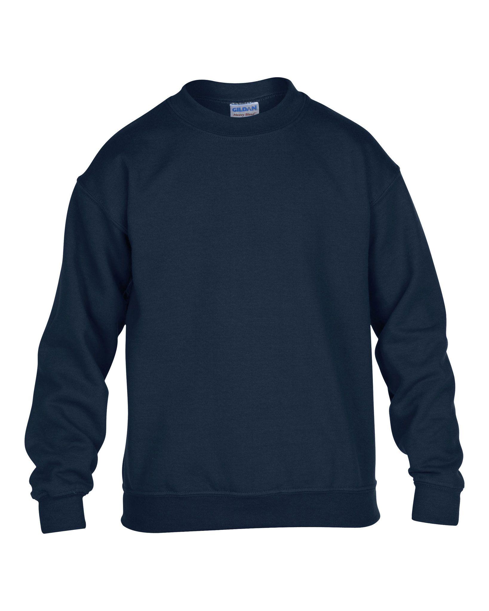 Sweatshirt publicitaire Crewneck rouge - sweatshirt personnalisable