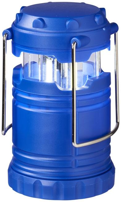Lanterne publicitaire avec lumière COB Cobalt - cadeau d'entreprise